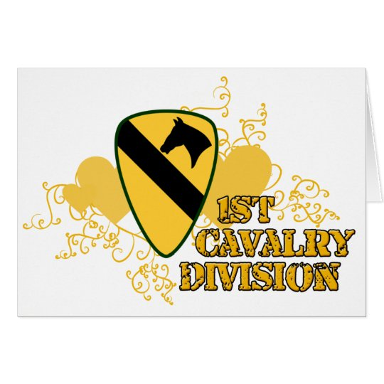 1st Cavalry Division Card