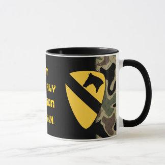 1st Cavalry Division Diamond Plate Coffee Mug