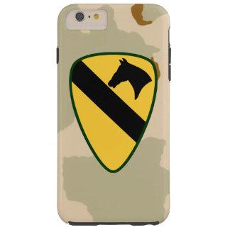 "1st Cavalry Division ""First Team"" Desert Camo Tough iPhone 6 Plus Case"