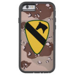 """1st Cavalry Division """"First Team"""" Desert Camo Tough Xtreme iPhone 6 Case"""