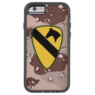 "1st Cavalry Division ""First Team"" Desert Camo Tough Xtreme iPhone 6 Case"