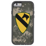 """1st Cavalry Division """"First Team"""" Digital Camo Tough Xtreme iPhone 6 Case"""