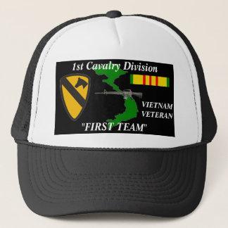"1st Cavalry Division""First Team""Vietnam Ball Caps"
