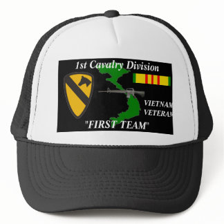 "1st Cavalry Division""First Team""Vietnam Ball Caps"