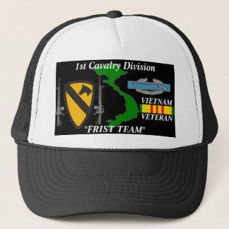 "1st Cavalry Division""First Team"" Vietnam Ball Caps"