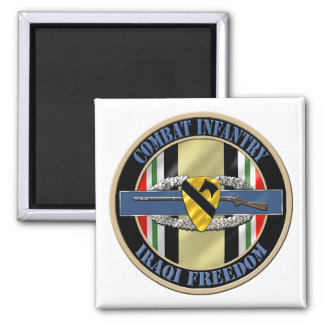 1st Cavalry Division Infantry OIF Magnet