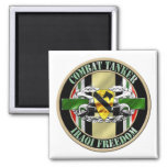 1st Cavalry Division Military Police OIF Refrigerator Magnet
