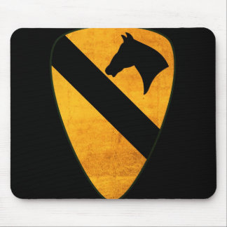1st Cavalry Division Mouse Pad Distressed