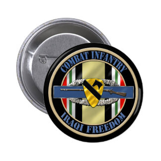 1st Cavalry Division OIF Infantry Button