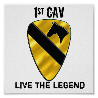 1st Cavalry Division Poster