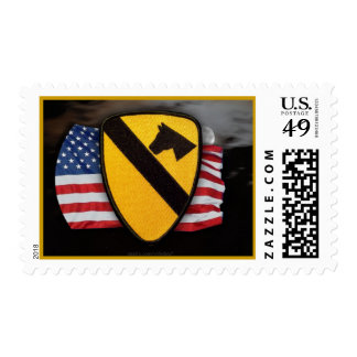 1st cavalry division son air cav postage stamp