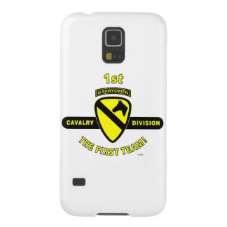 "1ST CAVALRY DIVISION ""THE FIRST TEAM"" CASE FOR GALAXY S5"