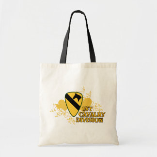1st Cavalry Division Tote Bag