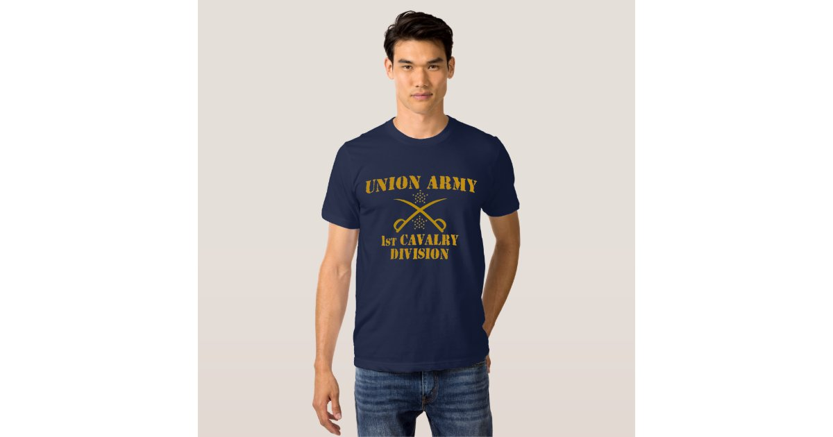 1st Cavalry Division Union Army Civil War Shirt Zazzle