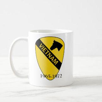 1st Cavalry Division VIETNAM, 1965-1972 Classic White Coffee Mug
