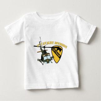 1st Cavalry Division - Vietnam - Huey Tee Shirt