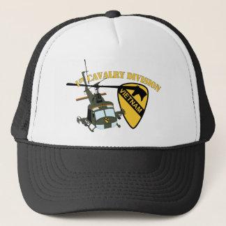 1st Cavalry Division - Vietnam - Huey Trucker Hat