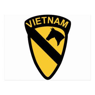 1st Cavalry Division - Vietnam Postcard