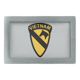1st Cavalry Division - Vietnam Rectangular Belt Buckle