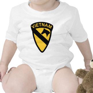 1st Cavalry Division - Vietnam Baby Creeper