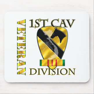 1st Cavalry Division Vietnam Veteran Mouse Pad