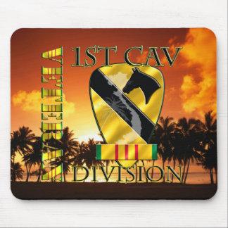 1st Cavalry Division Vietnam Veteran Mouse Pad