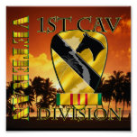 1st Cavalry Division Vietnam Veteran Poster