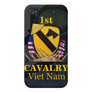 1st cavalry division vietnam veterans i iPhone 4 case