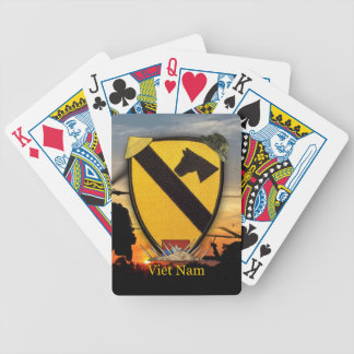 1st cavalry division vietnam veterans poker Cards