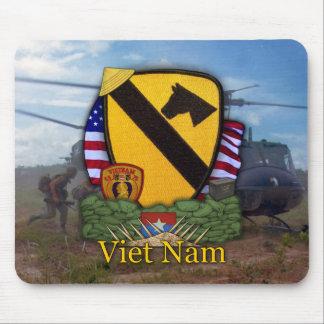 1st cavalry division vietnam veterans vets Mousepa Mouse Pad