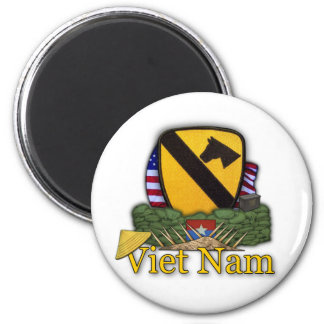 1st cavalry division vietnam veterans war vets Mag Magnet