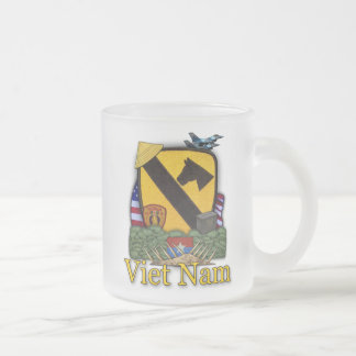 1st cavalry division vietnam vets frosty beer mug
