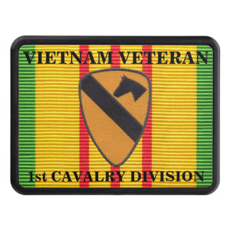 1st Cavalry Division VSM Ribbon Hitch Cover