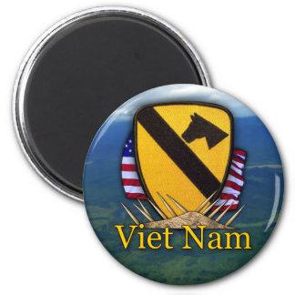 1st cavalry vietnam air cav vets patch Magnet