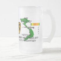 1st Cavalry Vietnam Frosted Mug