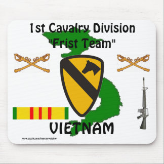 1st Cavalry Vietnam Mousepad 1/w-s