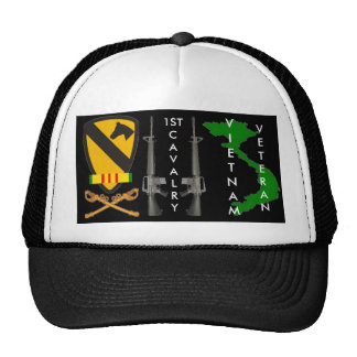 1St Cavalry Vietnam Veteran Ball Caps Trucker Hat
