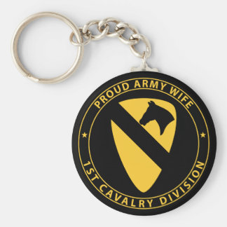 1st Cavalry Wife Key Chains