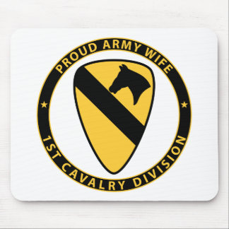 1st Cavalry Wife Mouse Pad