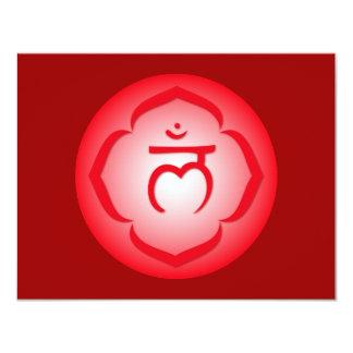 1st Chakra - Muladhara 4.25x5.5 Paper Invitation Card