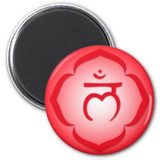 1st Chakra - Muladhara Magnet