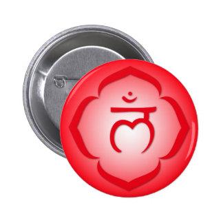 1st Chakra - Muladhara Pinback Button