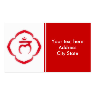 1st Chakra (the root chakra) Business Card