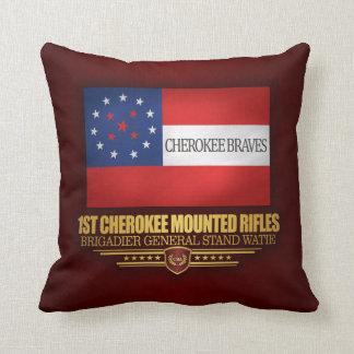 1st Cherokee Mounted Rifles Throw Pillow