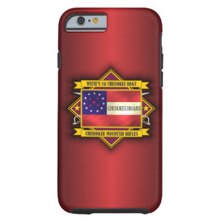 1st Cherokee Mounted Rifles Tough iPhone 6 Case
