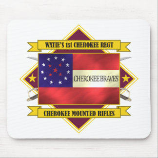 1st Cherokee (Watie's Mounted Rifles) Mouse Pad