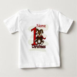 1st Christmas Bunny Infants T-shirt