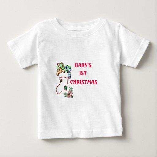 1st christmas_edited-1 baby T-Shirt