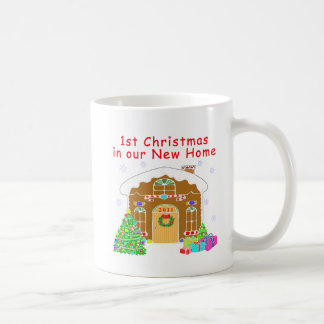 1st Christmas in our New Home Coffee Mug