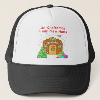 1st Christmas in our New Home Trucker Hat